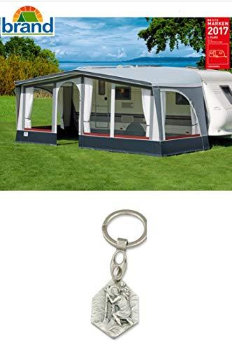 Zisa-Kombi Gardinensatz für Brand-Vorzelt Touring Premium (932988935205) mit Anhänger Hlg. Christophorus