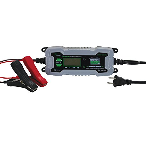Extreme Max 1229.4009 Battery Buddy PRO 6V/12V (1 Amp / 4 Amp) Water Resistant Battery Charger / Maintainer