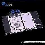 Full-Cover GPU Block Water Block Waterblock Liquid Cooler RGB LED for Computer Graphic Card MSI GTX 1080 Gaming GTX 1070 Gaming GTX 1060 Gaming