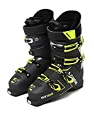 LANGE SX 100 Botas de Esquí, Hombre, Anthracite/Amarillo, 27