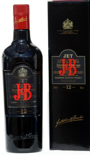 J & B JET Blended Scotch Whisky 12 Jahre