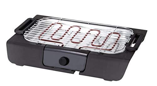 Dynamic24 Elektrischer Grill 2000W Tischgrill Elektrogrill Gartengrill mit Themostat Elektro