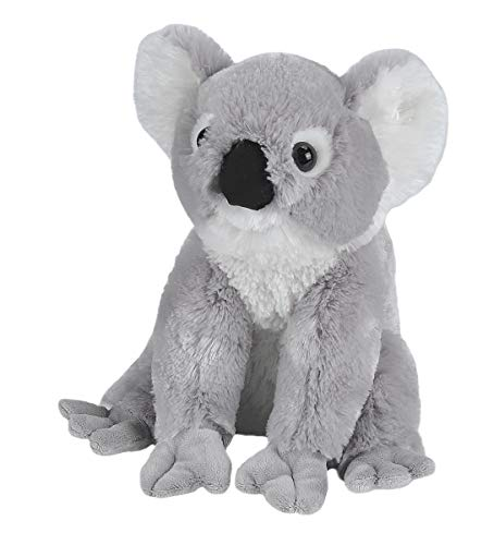 Wild Republic-10908 Peluche Koala Cuddlekins, Color Negro/