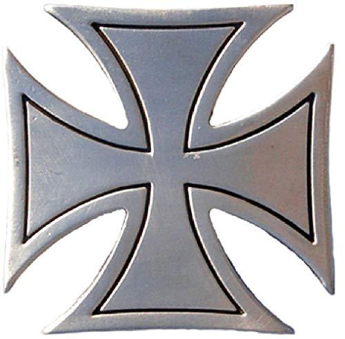 Eisernes Kreuz - Gürtelschnalle/Buckle für Gürtel | Militaria Rocker Biker - Das Eiserne Kreuz als Schnalle für Ledergürtel