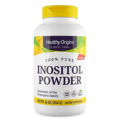 Healthy Origins Inositol Powder, 16 Ounce