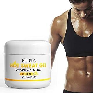 RNEKFA Slimming Hot Cream Natural Sweat Workout Enhancer,Hot Sweat Gel Fat Burning Cream for Abdomen, Thighs, Legs, Arms f...