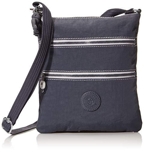 Kipling womens Keiko crossbody bag, Grey Slate, Mini US