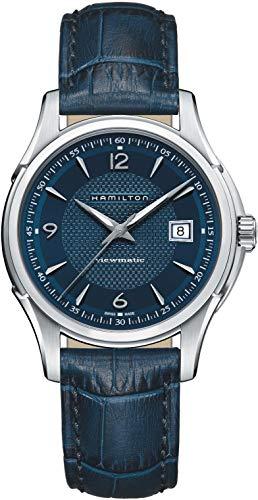 Hamilton Jazzmaster Viewmatic H32515641 Reloj automático para hombre con esfera azul
