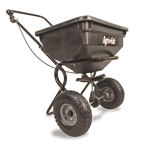Sale!! Agri-Fab 85-Pound Push Broadcast Spreader 45-0388 (Pack of 1)