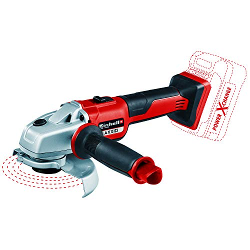 Einhell Axxio Power X-Change 18-Volt Cordless 5-Inch, Brushless Mmotor, 8500 RPM, Angle Grinder/Cutoff Tool for Grinding and Cutting, w/Quick Adjust Disc Guard