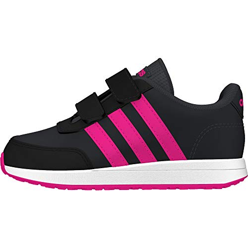 adidas Unisex Baby Vs Switch 2 Laufschuh, Carbon/SHOPNK/CBLACK, 19 EU