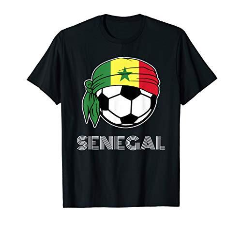 Senegal Soccer Jersey 2019 Senegalese Football Fans Kit T-Shirt