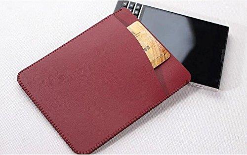 Funda para Blackberry Passport Silver Edition Vintage de microfibra de piel sintética, con ranuras para tarjetas, compatible con For Blackberry Passport Silver Edition (fabricado en Microfibra.)