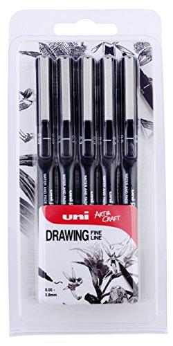 Confezione da 40 Mine per Portamine UNI NanoDia da 0,5 mm di Mitsubishi Pencil 0.5-202ND Giappone