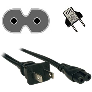 ReadyWired Power Cable Cord for Samsung TV UN40H5203 UN46H7150 UN40H5500 UN40H6350 UN40HU6950 UN46H5203