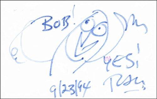 Ray Bradbury Max Ranking TOP10 54% OFF - Inscribed Original Signed 09 1994 23 Art