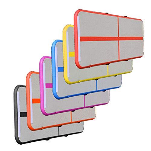 Aigrun Cojín de Equilibrio de Yoga Cojín de Masaje Inflable Cojín de Equilibrio Espesador Dispositivo de Entrenamiento de Equilibrio a Prueba de explosiones-Púrpura