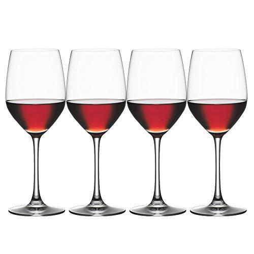 Spiegelau & Nachtmann, 4-teiliges Rotweinglas Set, Kristallglas, 424 ml, Vino Grande, 4510271
