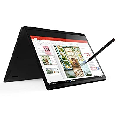 Lenovo Flex 14 2-in-1 Convertible Laptop, 14 Inch FHD, Touchscreen, AMD Ryzen 5 3500U Processor, Radeon Vega 8 Graphics, 8GB DDR4 RAM, 256GB NVMe SSD, Win 10, Black, Pen Included