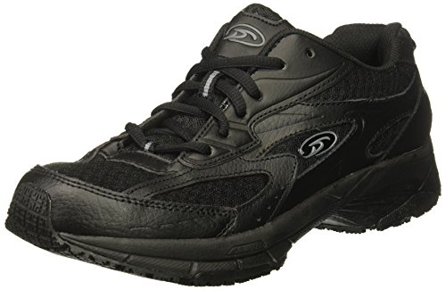 Dr. Scholl's Shoes Women's Gesture Food Service Shoe, Black, 7.5 W US