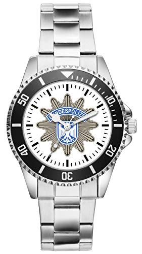 Geschenk für Polizist Bundespolizist Polizei Bundespolizei Uhr 1057