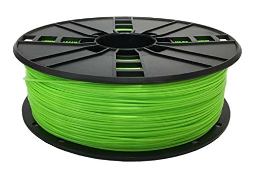 Technologyoutlet - Filamento de impresión 3D (1,75 mm, ASA), verde, 1