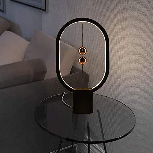 Balance Lamp, Mini Balance Light Aspetto alla moda con sfera magnetica unica per la decorazione domestica