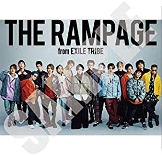 THE RAMPAGE LIVE TOUR 2019 THROW YA FIST 公式グッズ ポスター