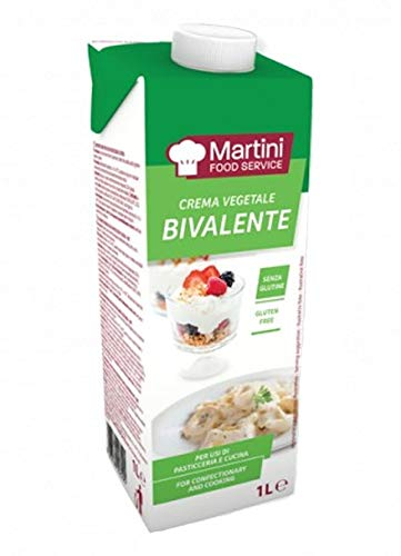 MARTINI FOOD SERVICE BIVALENTE NICHT SÜßE PFLANZLICHE SAHNE 1 LT