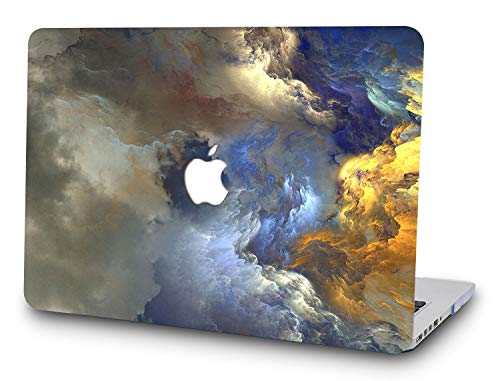 DTangLsm Plastic Hard Case Cover Shell for Old MacBook Pro 13' Inch Non-Retina Model A1278(Version Early 2012/2011/2010/2009/2008)