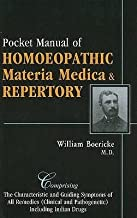 By William Boericke Pocket Manual of Homoeopathic Materia Medica & Repertory: Comprising of the Characteristic and Guidi (1 Lrg) [Hardcover]