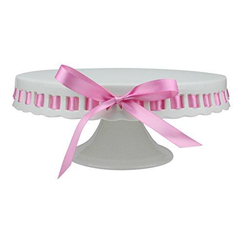 Miss Bakery's House® Tortenständer - Lili Serie - Ø 30 cm - Kuchenplatte, rund - Hochzeit