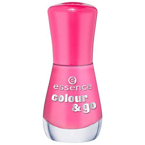 Essence Colour & Go Quick drying Nail Polish Nr. 177 happy end Farbe: Pink Inhalt: 8ml Nagellack Nail Polish für schöne Nägel
