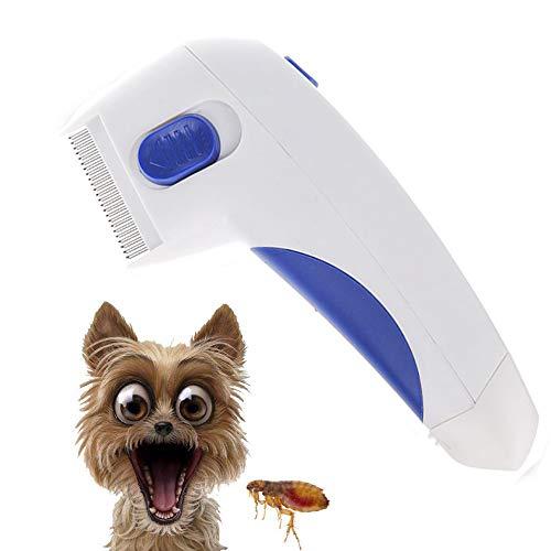 Elektrischer Lausekamm Tiere Kamm Floh Hund Tier Stücke Sicher Schmerzlos Kopfläuse Sicherer Langlebig Für Welpen Katzen Haarpflege Bürsten