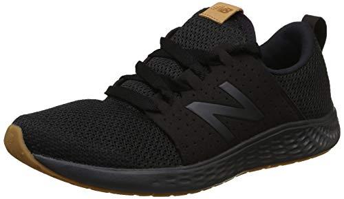New Balance Men's Fresh Foam Sport V1 Running Shoe, Black/Black, 10 M US
