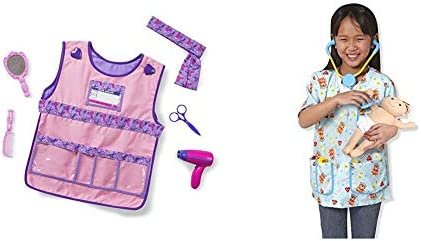 Melissa Doug Hair Stylist Role Play Costume Set Pediatric Nurse Role Play Costume Set product image