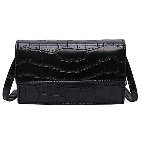 Why Should You Buy Leaf2you Women PU Leather Serpentine Crossbody Bags Messenger Bag Shoulder Bag