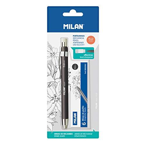 MILAN® Portaminas profesional 5.2 mm con minas de recambio