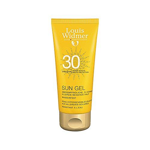 Widmer Sun Gel 30 leicht parf�miert, 100 ml