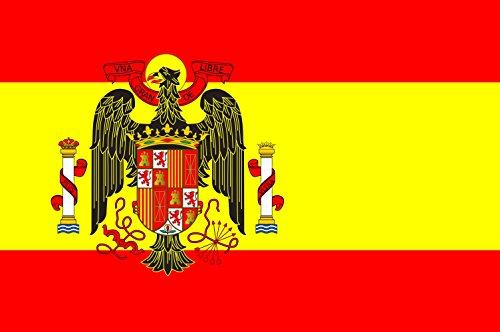 magFlags Bandera Large España Durante el franquismo | Bandera Paisaje | 1.35m² | 90x150cm