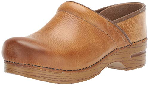 Dansko Women's Professional Honey Distressed Clog 9.5-10 M US
