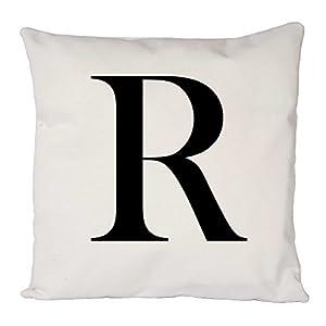 Scrabble Alphabet Letter R, Pillow Case