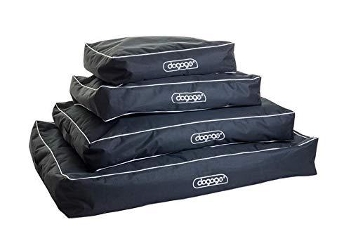 dogogo® Lounger kussensloop met borduurwerk zwart 60 x 50 x 15 cm