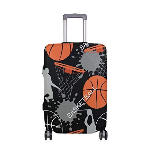 ALINLO Let's Play - Funda Protectora para Maleta de Baloncesto de 18 a 32 Pulgadas, Multicolor (Multicolor) - sdv6464sdb332