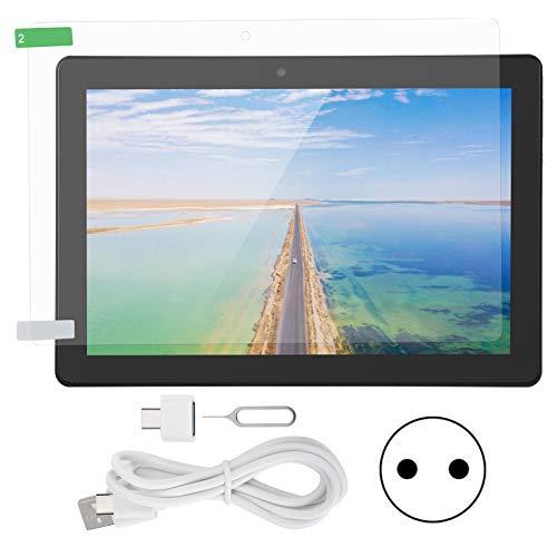 Fournyaa Tableta Ultra Delgada, Tarjeta SIM Dual Visualización de 178 Grados Admite 2 Tarjetas(European Plug (100-240v))