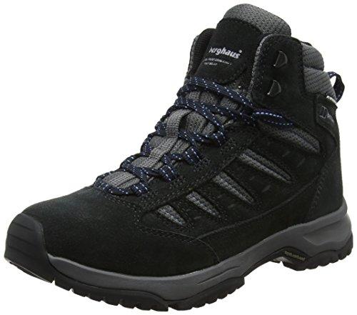 Berghaus Explorer Active M Gore-tex Walking Boots, Chaussures de Randonnée Hautes Femme, Bleu (Navy/Grey N10), 41.5 EU