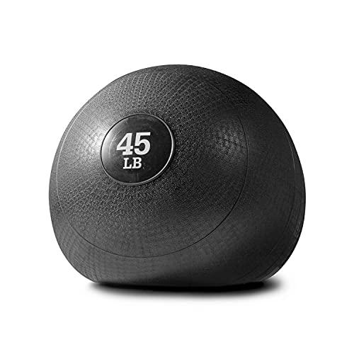 Titan Fitness Slam Spike Ball, Rubber Exercise Equipment, 45 lb. Gym Weight