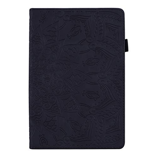 TXLING Case tablet for iPad pro11 2020/iPad Air 10.8(2020)/iPad Air (2020)/iPad Pro 11(2018) Premium Leather Folio Stand Case Smart Cover, with touchscreen pen (black)