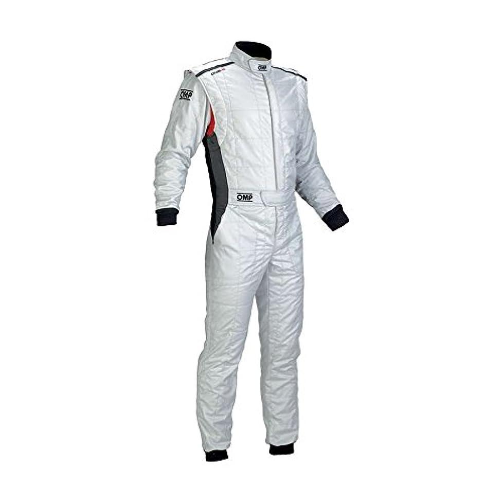 長老コカイン細心のOMP (IA0184202054 ワンヴィンテージレーシングスーツ ホワイト サイズ54