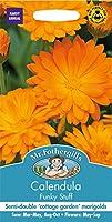 【輸入種子】 Mr.Fothergill's Seeds Calendula Funky Stuff カレンデュラ(きんせんか) ファンキー・スタッフ ミスター・フォザーギルズシード